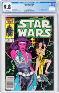 Modern Age (1980-Present):Science Fiction, Star Wars #106 (Marvel, 1986) CGC NM/MT 9.8 White pages....