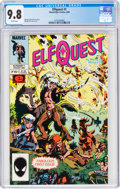 Modern Age (1980-Present):Miscellaneous, Elfquest #1 (Marvel, 1985) CGC NM/MT 9.8 White pages....