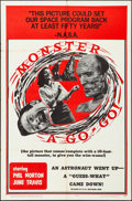 Movie Posters:Horror, Monster A Go-Go (B.I. and L. Releasing, 1965). Folded, Fin...