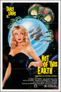 """Movie Posters:Science Fiction, Not of this Earth (Concorde/Trinity, 1988). Folded, Very Fine-. OneSheet (27"""" X 41""""). Science Fiction.. ..."""