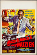 "Movie Posters:Musical, Musik, Musik und nur Musik (Standard Films, 1955). Very Fine-.Belgian (14.5"" X 21.5""). Musical.. ..."