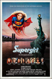 "Supergirl (Tri-Star, 1984). Folded, Very Fine-. One Sheet (27"" X 41""). Adventure"