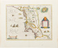 Books:Maps & Atlases, [Northeast -- Map of the New Netherlands and New England]. Willem Janz. Blaeu. Nova Belgica et Anglia Nova. [A...