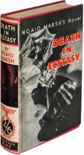 Books:Mystery & Detective Fiction, Ngaio Marsh. Death in Ecstasy. London: [1936]. First edition.. ...