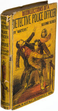 """Books:Mystery & Detective Fiction, """"Waters."""" Recollections of a Detective Police-Officer, Second Series. London: 1859. First edition.. ..."""