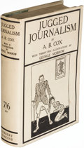 Books:Mystery & Detective Fiction, A. B. Cox. Jugged Journalism. London: [1925]. First edition. Author's copy.. ...
