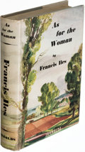 Books:Mystery & Detective Fiction, [Anthony Berkeley]. Francis Iles. As for the Woman. London: [1939]. First edition. Inscribed.. ...