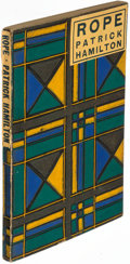 Books:Mystery & Detective Fiction, Patrick Hamilton. Rope: a Play. London: 1929. First edition.. ...