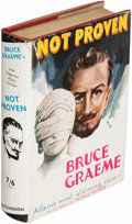 Books:Mystery & Detective Fiction, Bruce Graeme. Not Proven. London: [1935]. First edition.. ...