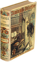 Books:Mystery & Detective Fiction, Headon Hill. Zambra the Detective. London: 1894. First edition, yellowback issue.. ...