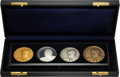 Political:Inaugural (1789-present), Gerald Ford: Cased Set of Inaugural Medals.. ...