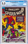 Silver Age (1956-1969):Superhero, The Amazing Spider-Man #40 (Marvel, 1966) CGC FN- 5.5 Off-white pages....