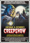 Movie Posters:Horror, Creepshow (Film 2, 1983). Folded, Very Fine-. Ital...