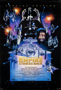 "Movie Posters:Science Fiction, The Empire Strikes Back & Other Lot (20th Century Fox, R-1997).Rolled, Overall: Very Fine. One Sheets (2) (26.75"" X ..."