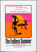 "Movie Posters:Sports, The Endless Summer (Cinema 5, R-1990s). Rolled, Very Fine-. Day-Glo One Sheet (27"" X 40"") SS. John Van Hamersveld Artwork. S..."