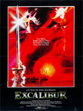 "Movie Posters:Fantasy, Excalibur (Warner Brothers, 1981). Folded, Very Fine. French Grande(46"" X 62.25""). Bob Peak Artwork. Fantasy.. ..."