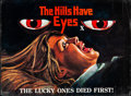 """Movie Posters:Horror, The Hills Have Eyes (Vanguard, 1977). Rolled, Fine/Very Fine.British Quad (30"""" X 40"""") Tom Chantrell Artwork. Horror...."""