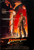 Movie Posters:Adventure, Indiana Jones and the Temple of Doom (Paramount, 1984). Ro...