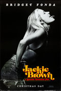 """Movie Posters:Crime, Jackie Brown (Miramax, 1997). Rolled, Very Fine-. One Sheet (27"""" X 40"""") SS, Advance, Bridget Fonda Style. Crime.. ..."""