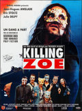 Movie Posters:Crime, Killing Zoe (Metropolitain Filmexport, 1994). Folded, Very...