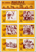 """Movie Posters:Science Fiction, Mad Max Beyond Thunderdome (Warner Brothers, 1985). Folded, VeryFine-. Uncut Australian Lobby Card Sheet of 6 (28"""" X..."""