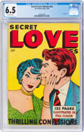 Golden Age (1938-1955):Romance, Fox Giants: Secret Love Stories #nn (Fox Features Syndicate, 1949) CGC FN+ 6.5 Off-white pages....