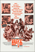 "Movie Posters:Western, Hot Spur (Olympic International, 1968). Folded, Very Fine+. One Sheet (28"" X 42""). Western.. ..."