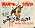 Movie Posters:Comedy, Jumping Jacks & Other Lot (Paramount, 1952). Rolled, Overa...