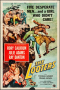 "Movie Posters:Adventure, The Looters & Other Lot (Universal International, 1955). Folded, Fine/Very Fine. One Sheets (2) (27"" X 41""). Adventure.. ... (Total: 2 Items)"