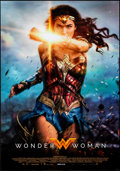 "Movie Posters:Action, Wonder Woman (Warner Brothers, 2017). Rolled, Near Mint. Italian One Sheet (26.75"" X 38.25""). Action.. ..."
