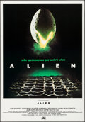 "Movie Posters:Science Fiction, Alien (20th Century Fox, 1979). Rolled, Very Fine. Italian OneSheet (27.5"" X 39.5""). Science Fiction.. ..."