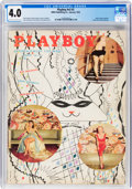 Magazines:Miscellaneous, Playboy V2#2 (HMH Publishing, 1955) CGC VG 4.0 Off-white to white pages....