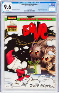 Bone Holiday Special #nn (Cartoon Books, 1993) CGC NM+ 9.6 White pages