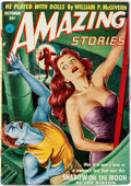 Pulps:Science Fiction, Amazing Stories V26#10 Yakima Pedigree (Ziff-Davis, 1952) Condition: VF....