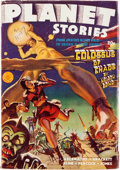Pulps:Science Fiction, Planet Stories V2#1 Yakima Pedigree (Fiction House, 1942) Condition: FN+....