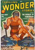 Pulps:Science Fiction, Thrilling Wonder Stories - October 1940 Yakima Pedigree (Standard) Condition: FN+....