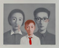 Prints & Multiples:Contemporary, Zhang Xiaogang (Chinese, b. 1958). Big Family from the series Bloodline, 2003. Lithograph in colors on cotton fiber ...