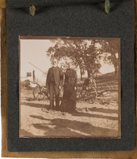 [John Steinbeck]. Photo Album of Steinbeck's Parents and Family
