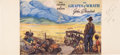 Books, [John Steinbeck]. Proof of the Dust Jacket for First Edition of The Grapes of Wrath. ...