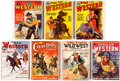 Pulps:Western, Assorted Western Pulps Group of 7 (Various, 1931-36) Condition: Average VG/FN.... (Total: 7 Comic Books)