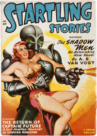Startling Stories - January 1950 (Standard) Condition: VF-