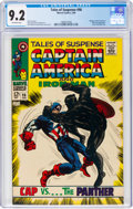 Silver Age (1956-1969):Superhero, Tales of Suspense #98 (Marvel, 1968) CGC NM- 9.2 Off-white pages....