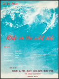 Movie Posters:Sports, Ride on the Wild Side (Ed De Priest Productions, 1963). Fi...