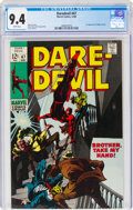 Silver Age (1956-1969):Superhero, Daredevil #47 (Marvel, 1968) CGC NM 9.4 White pages....