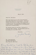 Autographs:U.S. Presidents, Jacqueline Kennedy Typed Letter Signed with Postscript. ...