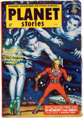 Pulps:Science Fiction, Planet Stories V5#10 Yakima Pedigree (Fiction House, 1953) Condition: VF-....
