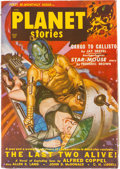 Pulps:Science Fiction, Planet Stories V4#9 Yakima Pedigree (Fiction House, 1950) Condition: VF-....