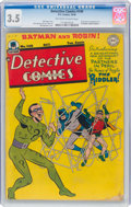 Golden Age (1938-1955):Superhero, Detective Comics #140 (DC, 1948) CGC VG- 3.5 Off-white to white pages....