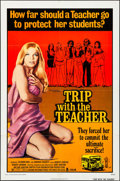 "Movie Posters:Sexploitation, Trip with the Teacher & Other Lot (Crown International, 1974).Folded, Very Fine-. One Sheets (2) (27"" X 41""). Sexplo..."