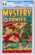 Golden Age (1938-1955):Superhero, Mystery Comics #2 (Wise Publications, 1944) CGC FN- 5.5 Cream to off-white pages....